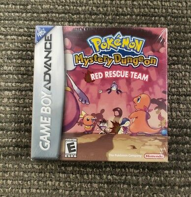 Pokemon Mystery Dungeon: Red Rescue Team Nintendo Game Boy Advance GBA NEW - SEA