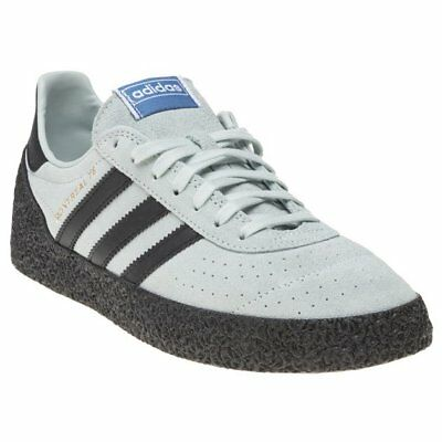 New Mens adidas Green Blue Montreal 76 Suede Trainers Retro Lace Up
