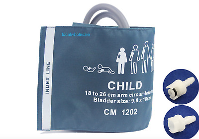 Children NIBP Cuff GE:330091/330064,Datex Ohmeda 877235 connect hose  18-26cm