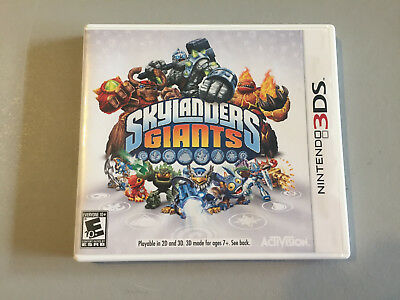 Skylanders Giants For Nintendo 3Ds *complete With Case And Manual*