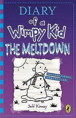 Diary of a wimpy kid: The meltdown by Jeff Kinney (Hardback) Fast and FREE P & P