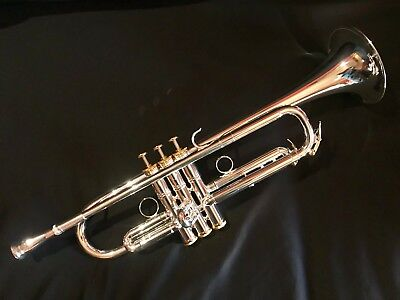 Andalucia AdVance Phase II Commercial model trumpet Silver plate Finish