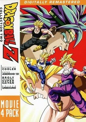 Dragon Ball Z: Movie Pack 2 (4Pc) New Dvd