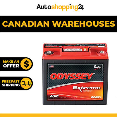 Odyssey PC680 Extreme Series 12V Drycell Battery