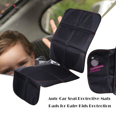 Car Seat Back Protector Cover for Children Baby Protective Mat Pad