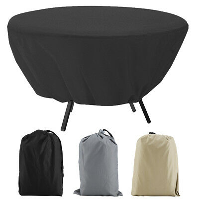 Outdoor Waterproof Dust-proof Round Sofa Cover Furniture Protection Garden Patio