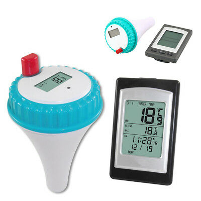 Wireless Buoy Thermometer Transmitter LCD Swimming Pool Hot Tub Waterproof