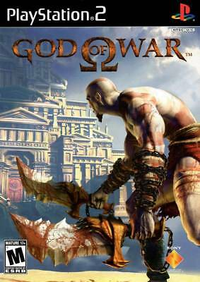 God Of War PS2 Playstation 2 Game Complete