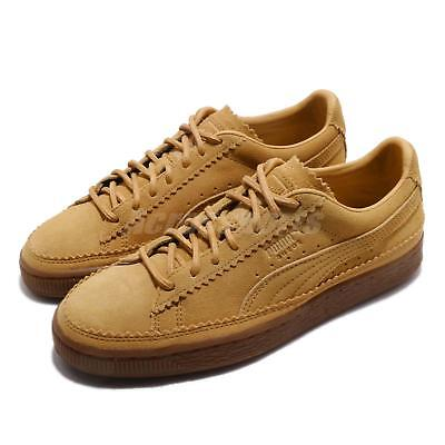 Puma Suede Classic Brogue Taffy Brown Gum Men Women Casual Shoes 366631-03 ac2237e17