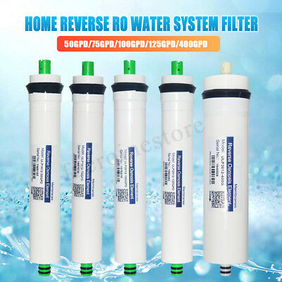 Reverse Osmosis Membrane Replacement RO Water System Filter White Drinking GDP