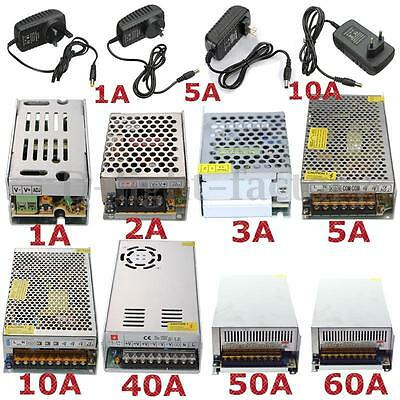 1A/2A/3A/5A/10A/20A/30A Switching Power Supply Transformer Adapter 5V/12V/24V