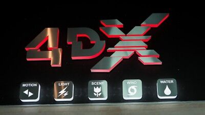 1 Ticket - 3D IMAX 4DX DBox Superscreen! Cineworld Cinema. Any Day/Time. *read*