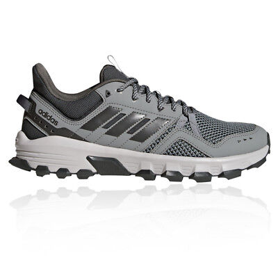 adidas Mens Rockadia Trail Running Shoes Trainers Sneakers Grey Sports