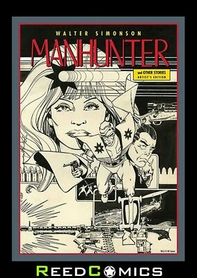 WALTER SIMONSON MANHUNTER ARTIST EDITION HARDCOVER New Boxed Hardback