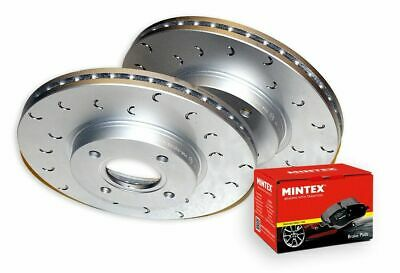 EBC GD Front Brake Discs 323mm for Mazda RX8 1.3 Rotary UK 2003-2012 GD7171