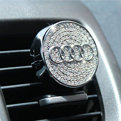 AUDI Crystal Rhinestone Swarovski Car Air Freshener Design A3,4,5,6,series 2019