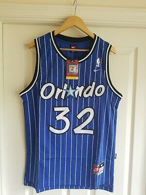 a47a3a2b7eb NWT SHAQ SHAQUILLE O Neal  32 NBA Orlando Magic Throwback Jersey ...