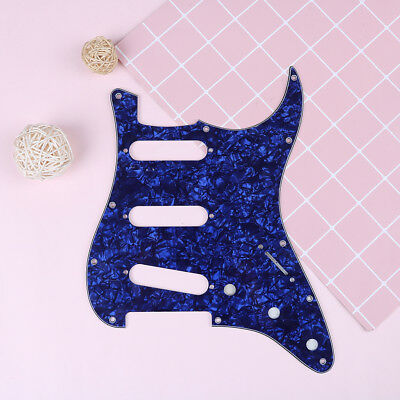 3Ply Guitar pearl pickguard plate for  strat Sp