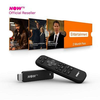 NOW TV Smart Stick with HD & Voice Search 2 Month Entertainment Pass