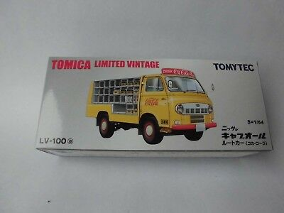 Tommy Tech Tomica Limited LV-100 Nissan Caball Coca Cola Truck