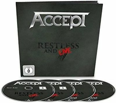 Accept - Restless & Live: Earbook Edition New Dvd