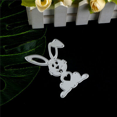 Easter lovely Rabbit Metal Cutting Dies For Scrapbook Card Craft Album Decor Fad
