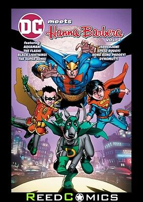 DC MEETS HANNA BARBERA VOLUME 2 GRAPHIC NOVEL (144 Pages) Collects 4 One-Shots