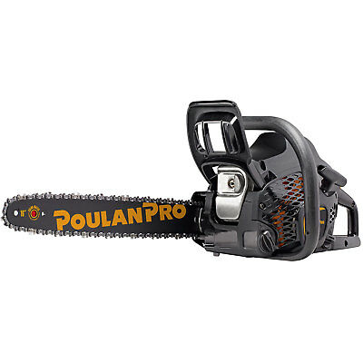 Poulan Pro PR4016 16 Inch 2 Cycle Gas Powered Chainsaw (Certified Refurbished)