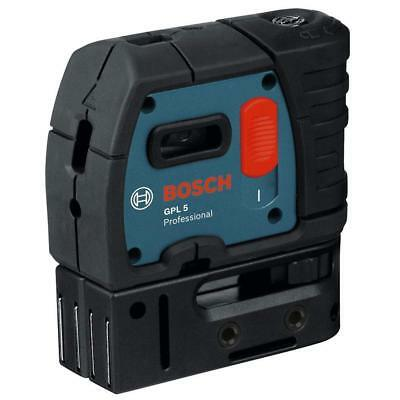 Bosch GPL5 5-Point Self-Leveling Alignment Laser NEW
