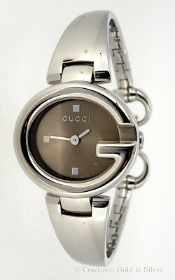 94a5704fc4d GUCCI GUCCISSIMA BANGLE Stainless Steel Quartz Movement Women s ...