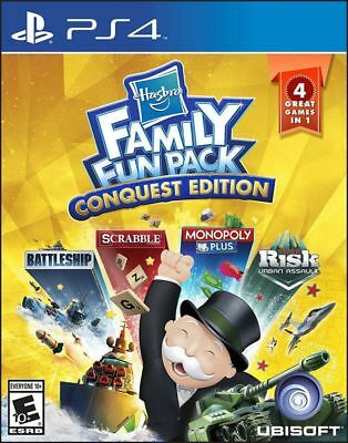 New Ubisoft Hasbro Family Fun-Conquest Edition-PlayStation 4