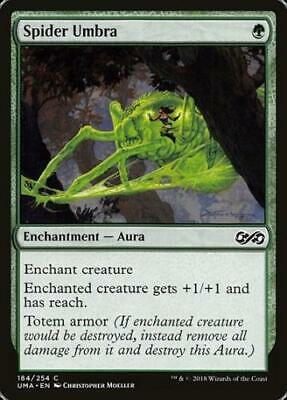 foil MTG ULTIMATE MASTERS Spider Spawning