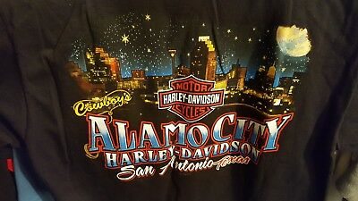 Harley Davidson Alamo City San Antonio Texas T Shirt Adult Small