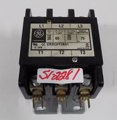 General Electric CR4CGA 30a 3pole lighting contactor new in box