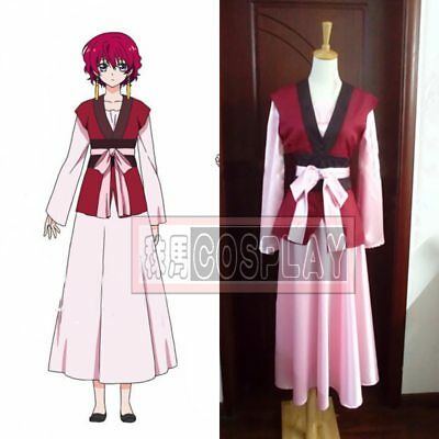 Yona of the Dawn Akatsuki no Yona clothes with ear hooks Cosplay Costume