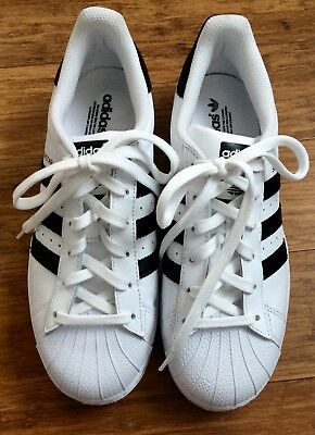 b2257df66f4f New Adidas Superstar White  Black Sneakers B49794 Size 5.5 Mens  Womens 7.5  Us