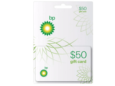 BP - $50 Gift Card Physical Card, No Fees, PayPal secure