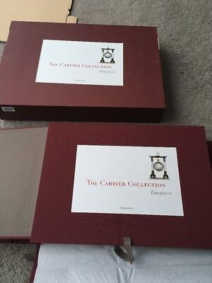 Rare Cartier Timepieces Book. HUGE. Brand New. Boxed. Franco Cologni. Freepost