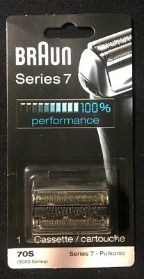 New Braun Series 7 Silver Pulsonic Replacement Cassette Head 70S