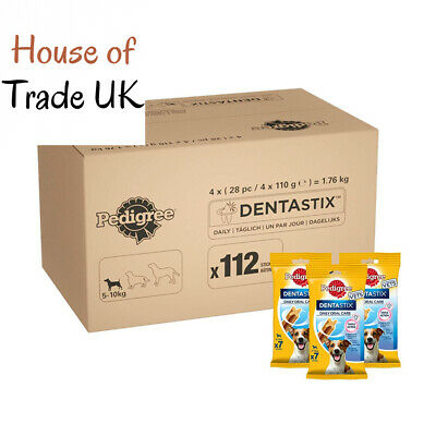 Pedigree Dentastix Dog Treats Dental Chews Care for Medium Dogs from 10-25