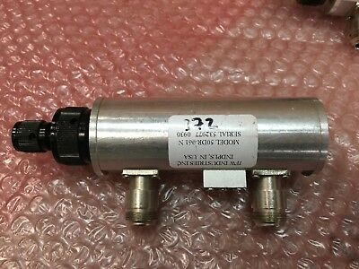 JFW 50DR-061 N Manually Variable Dual Rotary Step Attenuator 50 Ohms 2.2GHz 80dB
