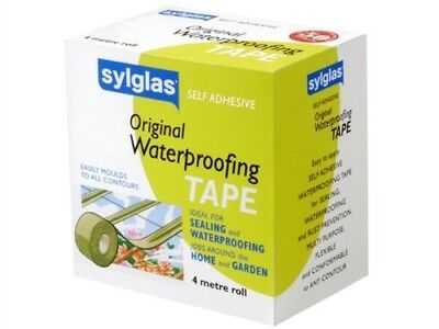 Sylglas WT100 Waterproofing Tape 4m x 50mm[variant Colors]