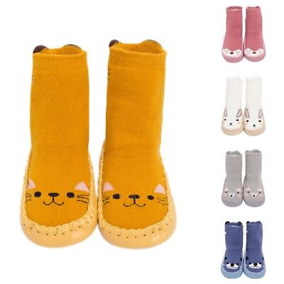 Baby Socks Cute Newborn Kids Non-slip Floor Socks Thickened Cartoon Shoes Socks