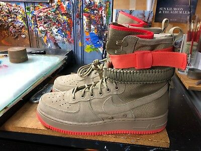 info for 3ac71 a25af Nike SF AF1 Khaki Rush Coral Special Field Air Force Size US 11.5 Men 864024