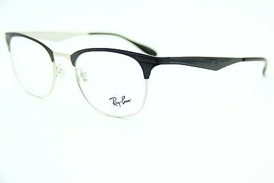 33ddb8e989 NEW RAY-BAN RB 6346 2861 Black Authentic Rx Eyeglasses Frame Rb 50 .