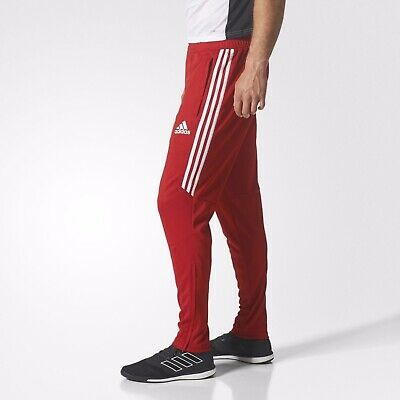 [CF3608] Mens Adidas Tiro17 Slim Soccer Training Pant - Red White