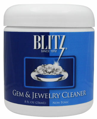 BLITZ Gem & Jewelry Liquid Cleaner - 8oz, FREE SHIPPING