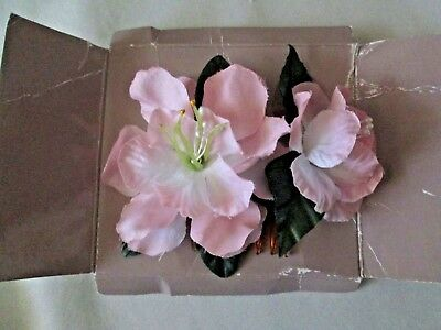 Avon Vintage*Blossom Hair Comb*Peach*New On Board No Outer Box*Old Stock 1989