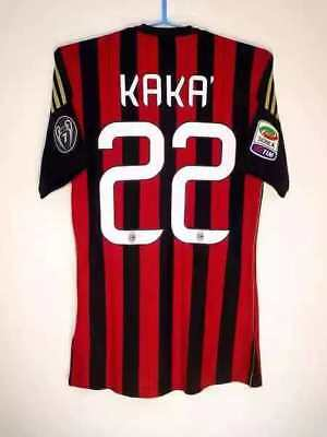 quality design 9d733 12f8d KAKA' AC MILAN 2013/2014 Home Kit Adidas Size Medium ...
