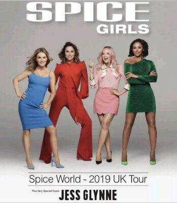 1 X Premium Standing Golden Circle Spice Girls Ticket Manchester Friday 31st May